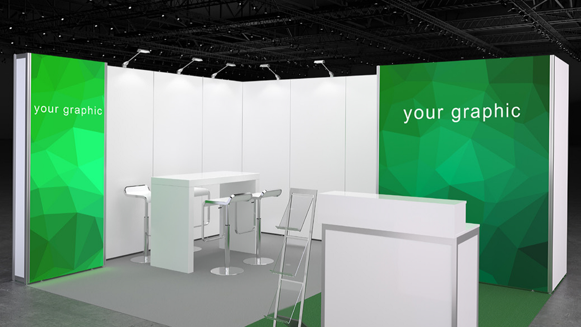 System booth rental